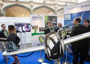 Airbus at Venturefest Bristol and Bath 2015, delivered by Focal Point