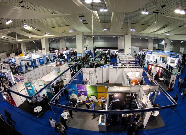Overview of the exhibition at the Cloud World Forum, delivered by Focal Point