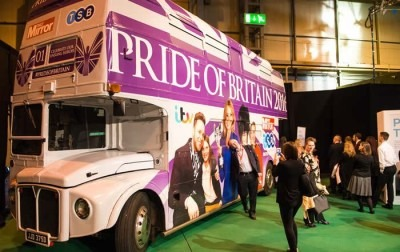 TSB Pride of Britain bus