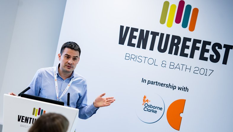 Venturefest Bristol and Bath 2017 event management by Focal Point
